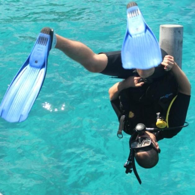 foto af dykker